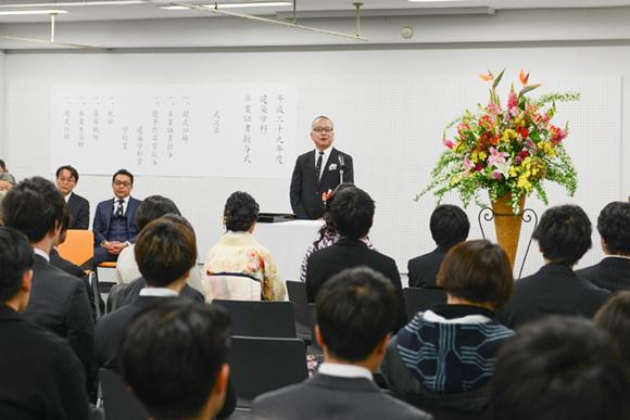 平成29年度卒業式