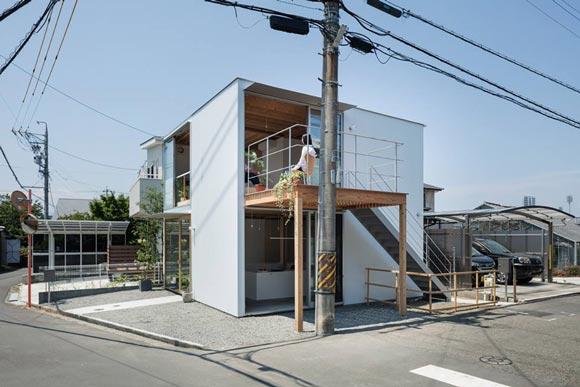 gré・正方形の家/新建築住宅特集11月号
